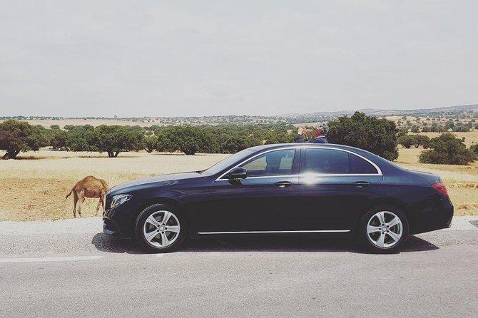 Privédaagse tour van Marrakech naar Essaouira per luxe auto