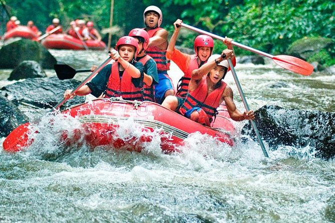 Bali Full-Day Adventure Tour (ATV and White Water Rafting)