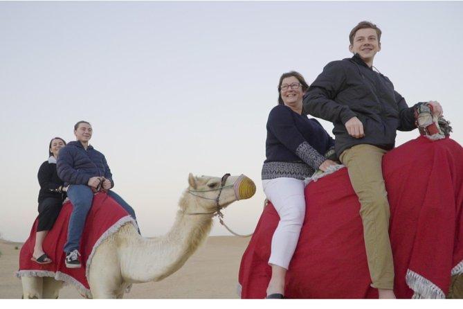 Morning Camel Trek & Sand Boarding with Breakfast