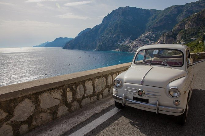 Private Tour: Amalfi Coast by Vintage Fiat 500 from Sorrento or Amalfi Coast