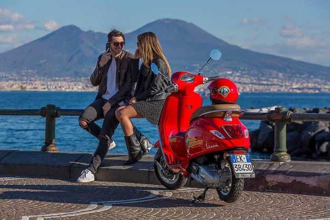 One Person Self-driven Audioguided Vespa Tour of Naples