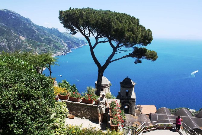 Amalfi coast full day tour by English speaking driver from Naples or Sorrento