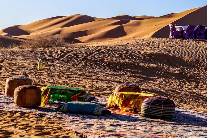 Merzouga Desert Camp Overnight & Cameltrek