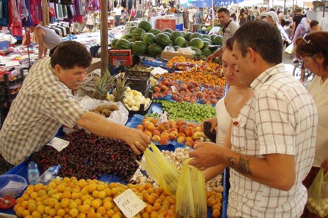 Koycegiz Market from Dalyan