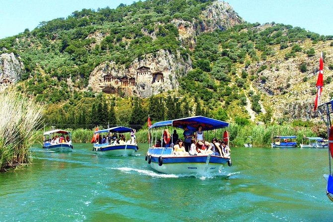 Dalyan Classic Boat Trip From Sarigerme