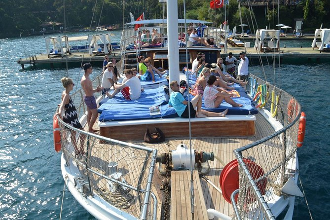 Adult Only VIP Gulet Cruise in Marmaris Coastline