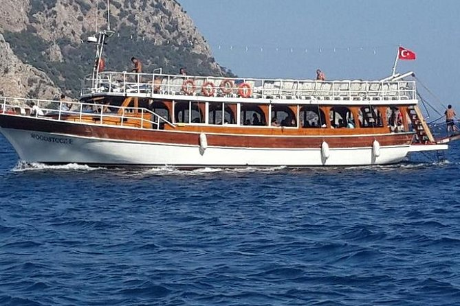 All Inclusive Boat Trip with Turunc and Kumlubuk break from Marmaris