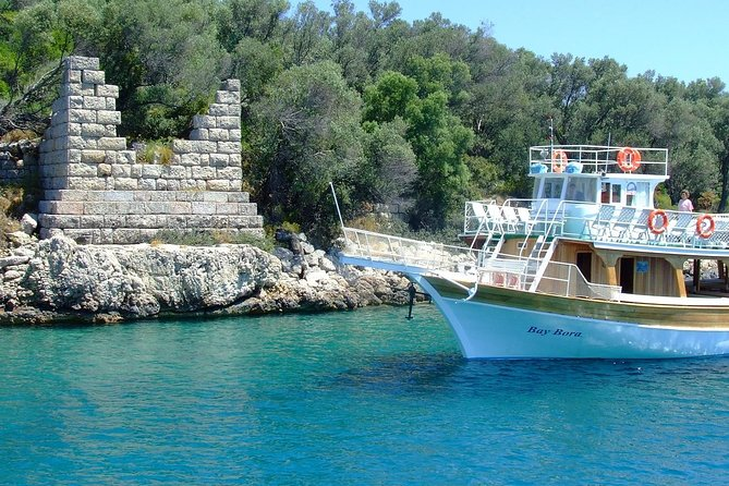 Gokova Boat Trip, with Cleopatra Island from Marmaris and Icmeler