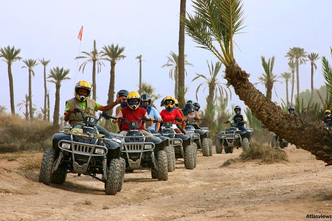 Sunset Tours quad biking and camel ride in the Agafay Desert