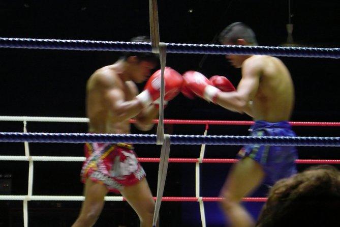 Muay Thai Kickboxing met Ringside-stoelen en privétransfer