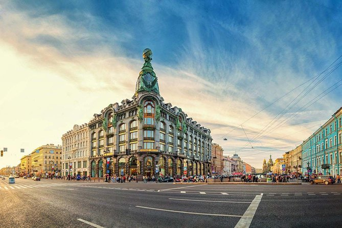 Saint Petersburg City Highlights Tour