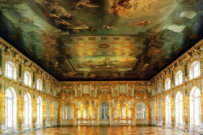Tour privado al Palacio de Catalina con sala de ámbar y entradas sin colas