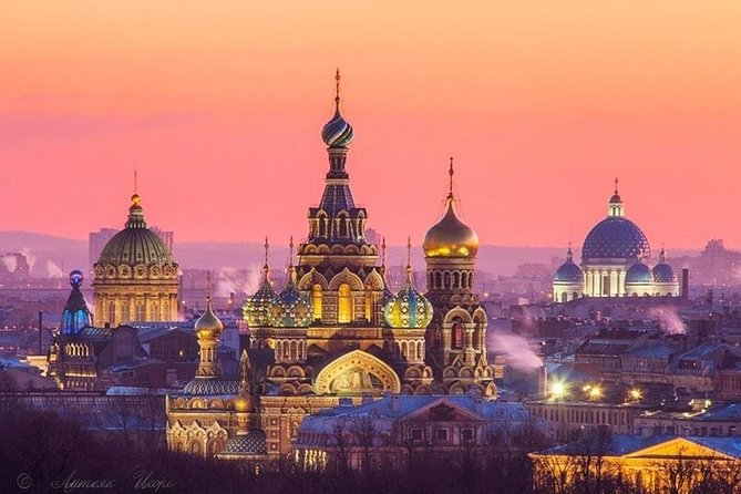 St Petersburg: Half–Day Cathedrals Walking Tour