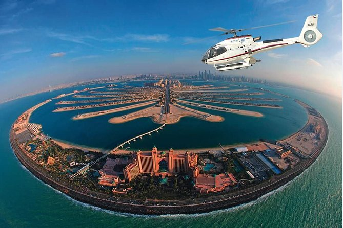 Dubai Helicopter Flight with Palm Jumeirah, Burj Khalifa