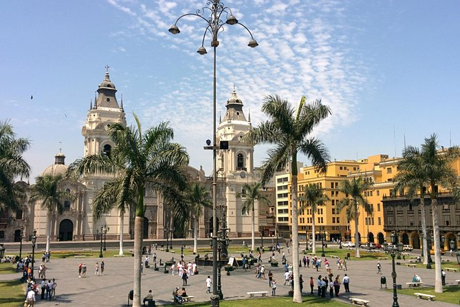 Lima City Tour Classic and Water Fountain Group Service