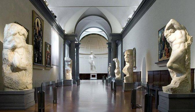 Descubra Michelangelo con una visita guiada omitida por la Galería de la Academia