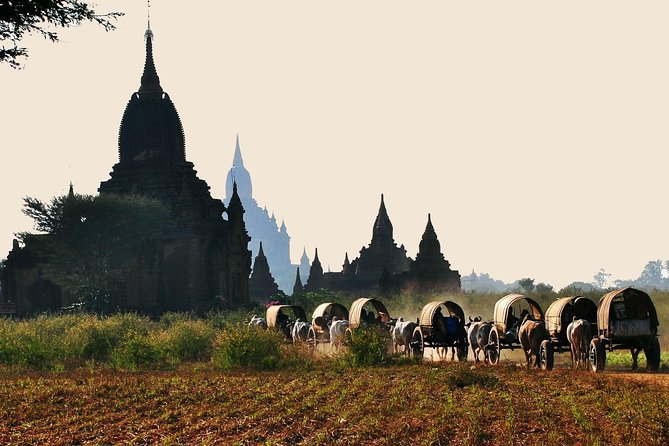 Bagan Fullday Sightseeing by Car and Horse-cart