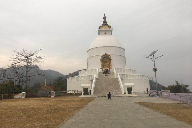 Easy Day Hike to World Peace Stupa (Nipponzan Myohoji Temple) from Pokhara Nepal