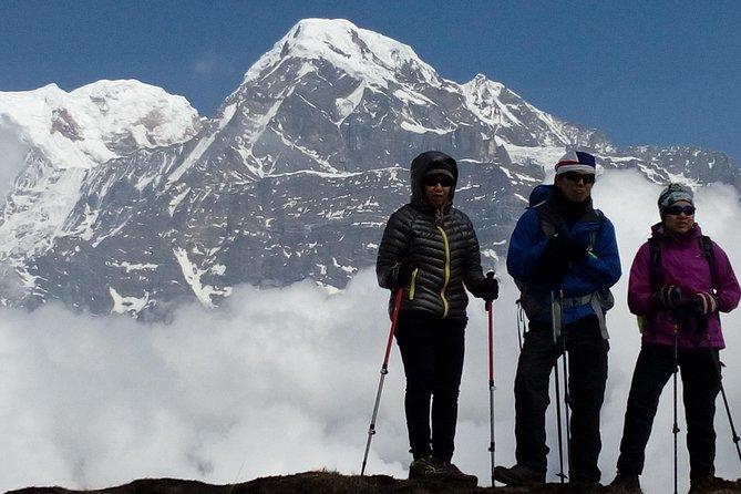 Mardi Himal Newly Discovered Trekking from Pokhara Nepal