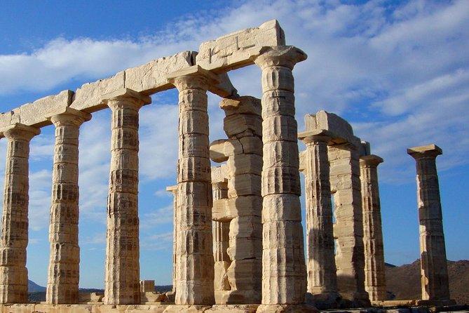 Cape Sounio Temple Of Poseidon and Swimming Full Day Private Tour