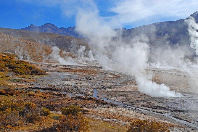 Excursão pelos gêiseres de El Tatio saindo de San Pedro de Atacama