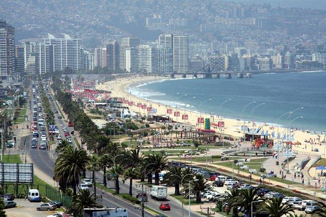 Half-Day Chilean Pacific Coast Tour: Viña del Mar, Reñaca and Concón