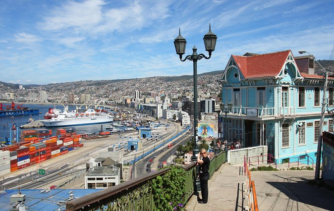 Santiago Super Saver: 2-Day City Sightseeing plus Viña del Mar and Valparaiso
