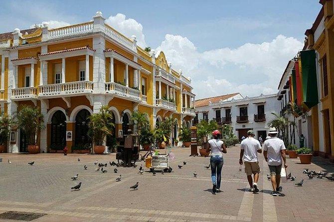 Passeio a pé em Cartagena