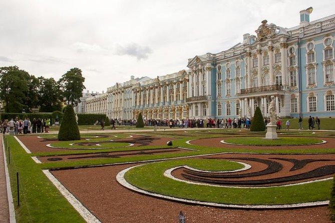 Visita de Catherine Palace y Amber Room