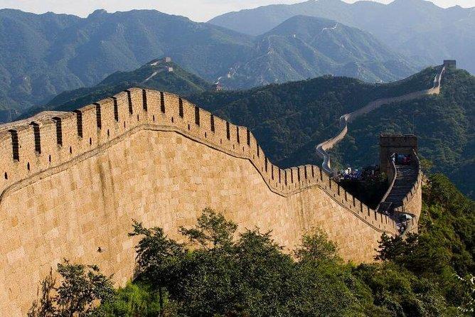 Badaling Great Wall en Ming Tombs bustour