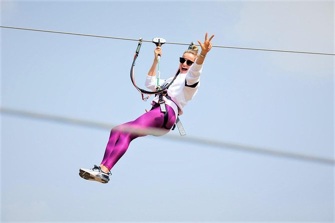 1-Day Admission to Aventura Parks with Zipline and Ropes Course