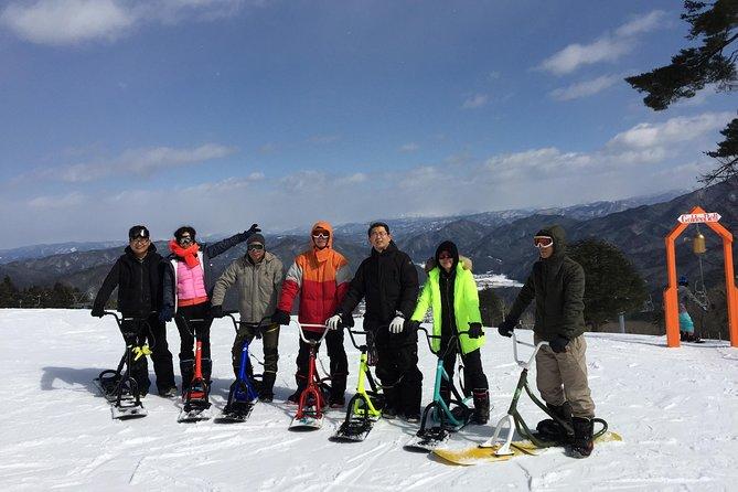 Snow scoot tour