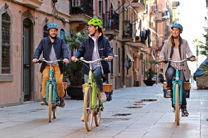 3-hour Barcelona, Montjuic Hill, and Gothic Quarter E-Bike Tour