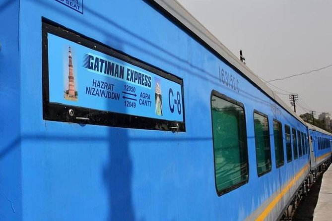 Private Tour in Executive Class by Gatimaan Express from Delhi to Agra Taj Mahal