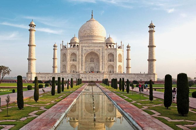 Private 14 hours Taj Mahal Day Tour from Delhi to Agra via Gatimaan Train