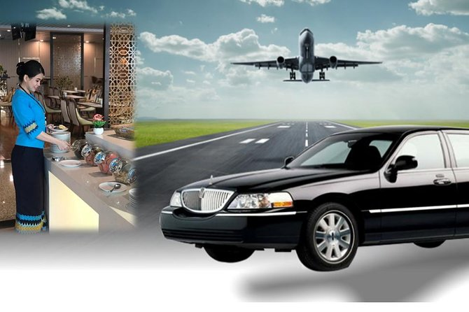 One Way Yangon Hotel to Airport Transfer with Airport Lounge access