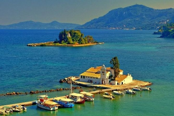 Achilleon, Kanoni, and Corfu Town Tour