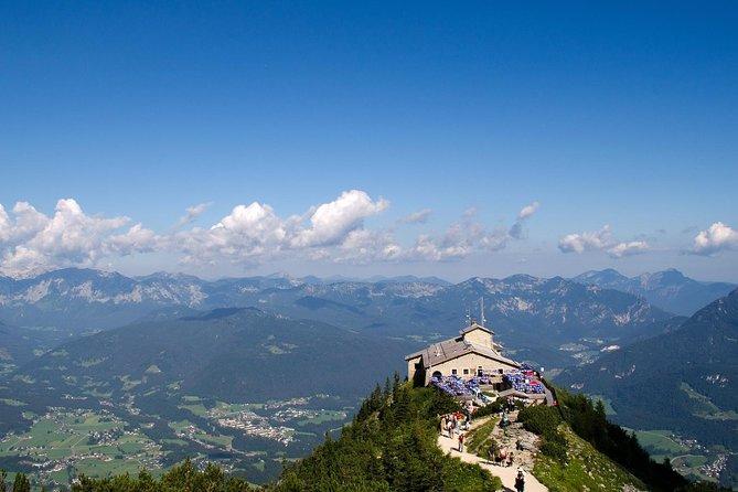 Excursion privée d'une journée dans les Alpes bavaroises et le nid d'aigle au départ de Salzbourg