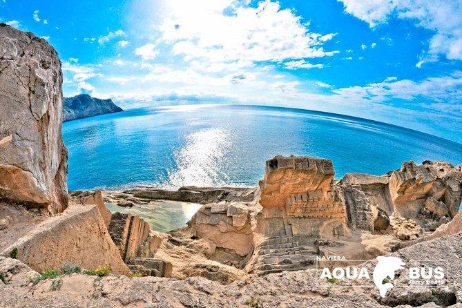 Vuelta a la Isla de Ibiza con Aquabus Fähre