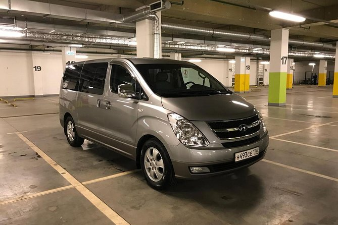 Minivan Taxi from St Petersburg airport Pulkovo (LED) to the city