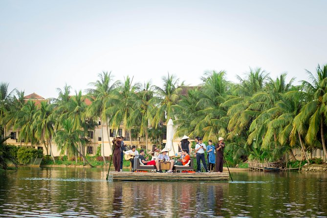 Romantic Dinning On The Bamboo Raft - Hoi An Half Day Private Tour
