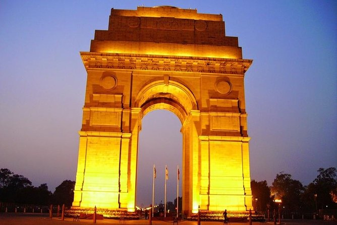 Private Old and New Delhi 1-Day Tour By Mercedes, Audi With Entrances