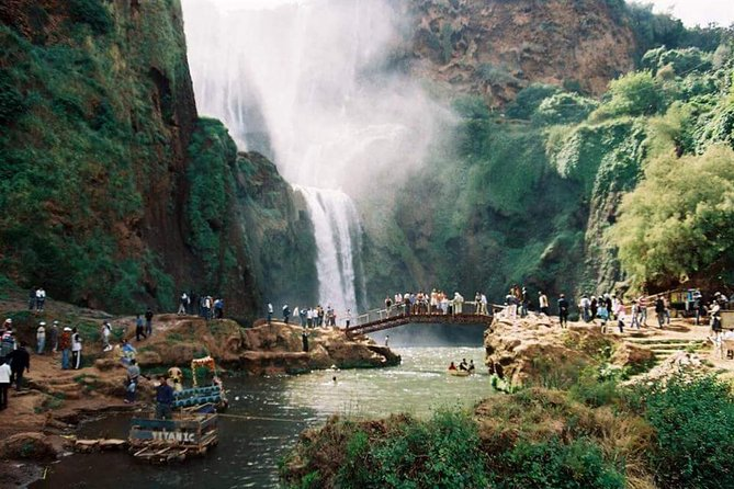 Marrakesh day trip to Ouzoud waterfalls