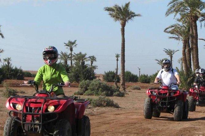 Quad biking in Marrakech desert