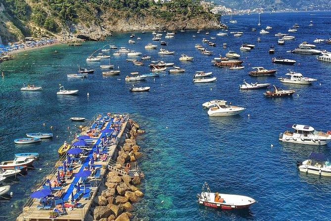 Private Amalfi Coast Mini-Motor Boat Excursion from Amalfi Coast Towns