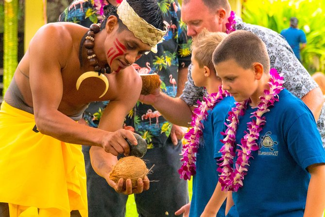 Toa Luau in Waimea Valley