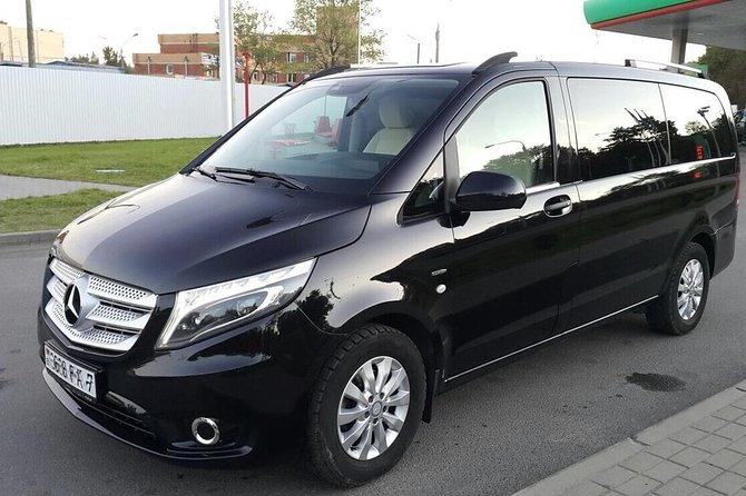VIP Transfer from Minsk Airport (MSQ) to Minsk city center (any address) by Minibus