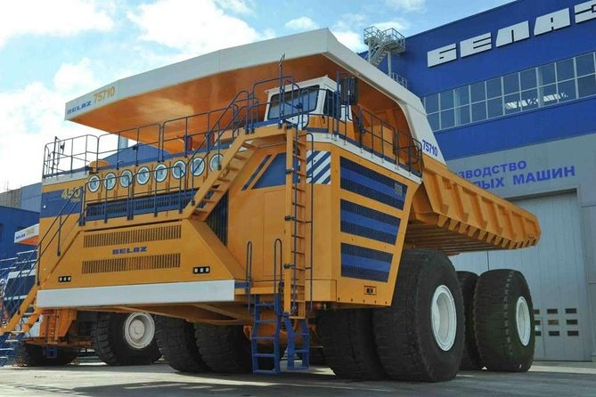 Private excursion to BELAZ factory
