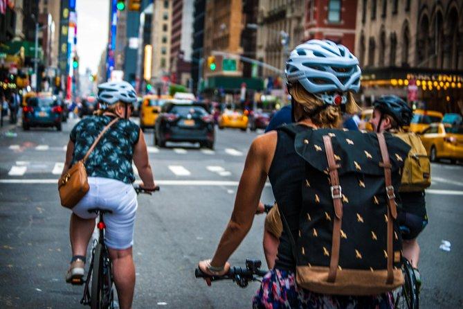 Fietstocht door Lower Manhattan