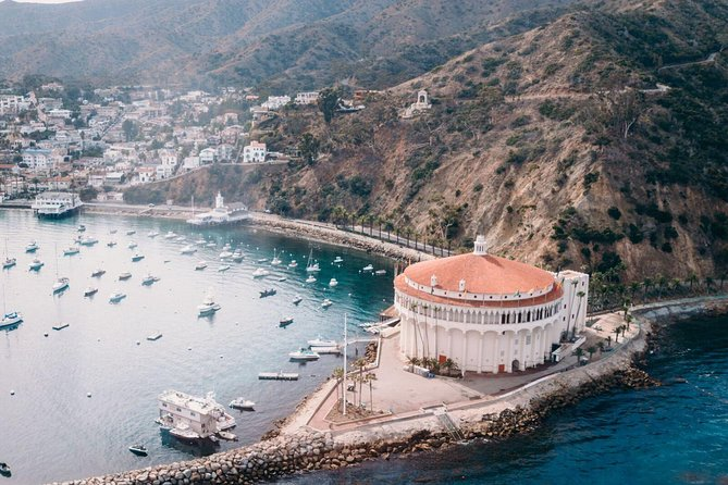 Catalina Island Helicopter Flight from Long Beach